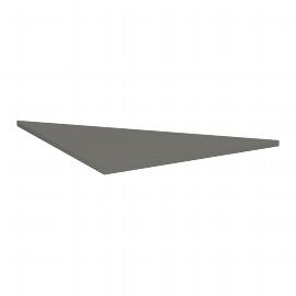 Geramöbel Verkettungsplatte 4-Fuß Pro Quadrat 667508 Dreieck 90° Tiefe 800x800mm Ahorn