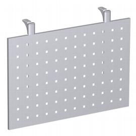 Geramöbel Knieraumblende 4-Fuß Pro Quadrat 667601 (BxH) 80x40cm Lochblech Silber