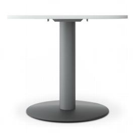 Geramöbel 710700 Besprechungstisch Kreisform Tellerfuß feste Höhe (ØxH) 900x1100mm Ahorn