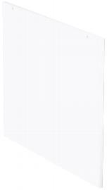 Geramöbel Seitenabschlussblende 830600 zum Thekenelement für Tischtiefe 800mm Ahorn