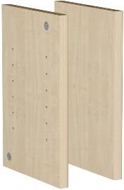 Geramöbel Fachseiten 2er-Set 830602 für Einlegeböden in Thekenelementen Ahorn