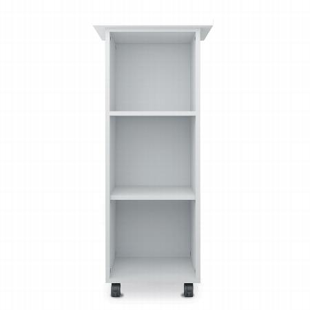 Geramöbel CADDY offen 343301-A mobiler Büroconatiner 3 Fächer (HxBxT) 117x50x45cm Ahorn