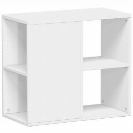 Geramöbel Anstellregal 381200 Anstellcontainer in Schreibtischhöhe (BxTxH) 40x80x72cm Ahorn