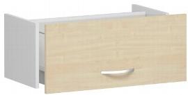 Geramöbel Hängeregistraturschublade 381705-A Flex Registraturauszug 1OH für Korpusbreite 80cm Ahorn