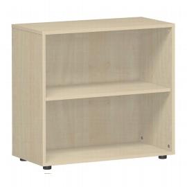 Geramöbel Regal 382001-A Flex Regal 2OH mit Standfüßen (BxTxH) 80 x 40 x 75,2cm Ahorn
