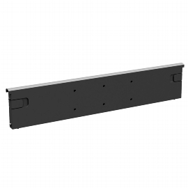 Geramöbel Querausfachung 530905-K für Kunststoff-Schubfächer Material Kunststoff Schwarz