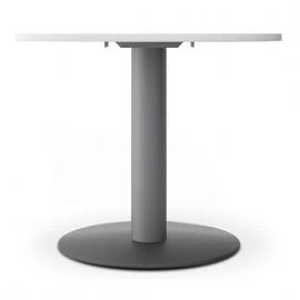 Geramöbel 710201 Besprechungstisch Kreisform Tellerfuß feste Höhe (ØxH) 900x720mm Ahorn