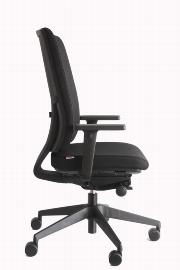 Geramöbel Bürodrehstuhl Compact 76-T5 alle* Verstellmöglichkeiten Schwarz