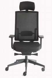 Geramöbel Bürodrehstuhl Relax 76-T7 alle* Verstellmöglichkeiten Schwarz