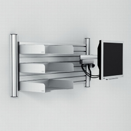 NOVUS 220+0120 Mehrplatzsystem Set Office Wall