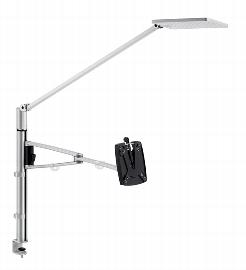 Novus 740+2139 Attenzia complete LED Tischlampe mit Säule MY Base 350 C