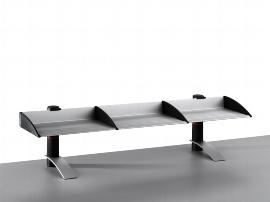 Novus 750+0555 Ablageboard BOARD MASTER einfach 100cm Tischfuß anthrazit