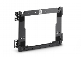 NOVUS 940+3305 ScreenMaster Frame 300x300 Wandhalter mit Sicherung