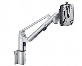 NOVUS 981+1089 Monitorarm LiftTEC-Arm I mit SlatWall Adapter Tragkraft 3 bis 8 kg