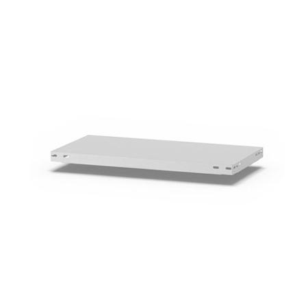 hofe Fachboden (Typ L) K07530L/040 (BxT) 750x300mm inkl.4 Fachbodenträger Lichtgrau