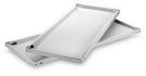 hofe Fachboden (Typ S) K07530S/040 (BxT) 750x300mm inkl.4 Fachbodenträger Lichtgrau (5er-Pack)