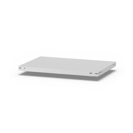 hofe Fachboden (Typ L) K07540L/040 (BxT) 750x400mm inkl.4 Fachbodenträger Lichtgrau