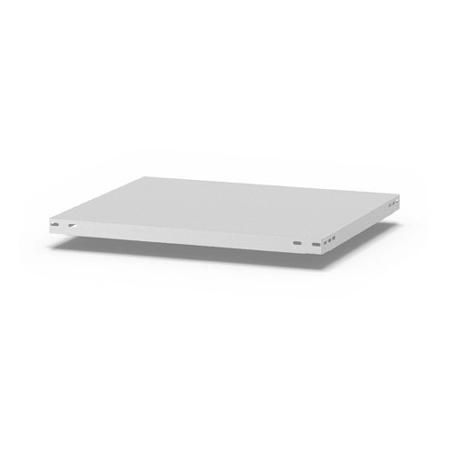 hofe Fachboden (Typ L) K07550L/040 (BxT) 750x500mm inkl.4 Fachbodenträger Lichtgrau