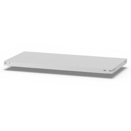 hofe Fachboden (Typ M) K10040M/040 (BxT) 1000x400mm inkl.4 Fachbodenträger Lichtgrau