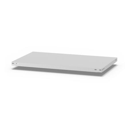 hofe Fachboden (Typ L) K10050L/040 (BxT) 1000x500mm inkl.4 Fachbodenträger Lichtgrau