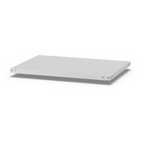 hofe Fachboden (Typ M) K10060M/040 (BxT) 1000x600mm inkl.4 Fachbodenträger Lichtgrau