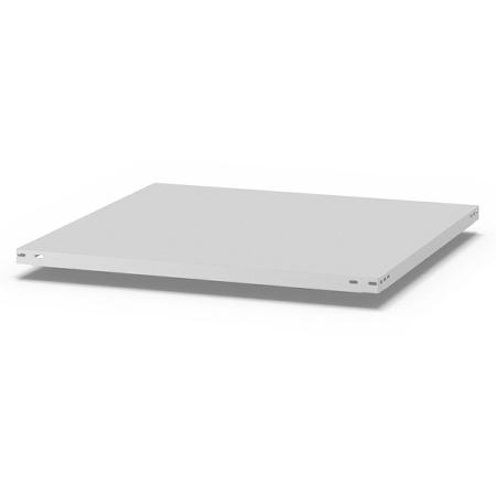 hofe Fachboden (Typ L) K10080L/040 (BxT) 1000x800mm inkl.4 Fachbodenträger Lichtgrau
