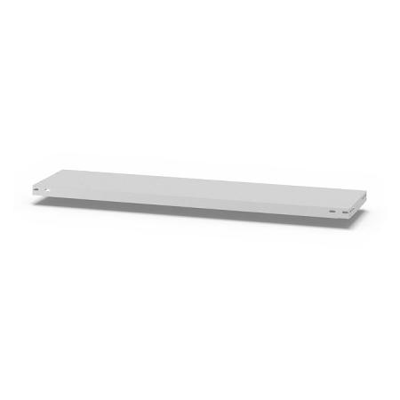 hofe Fachboden (Typ L) K13030L/040 (BxT) 1300x300mm inkl.4 Fachbodenträger Lichtgrau