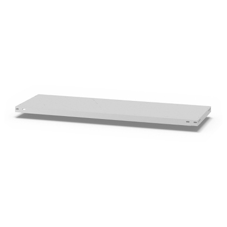 hofe Fachboden (Typ S) K13040S/040 (BxT) 1300x400mm inkl.4 Fachbodenträger Lichtgrau