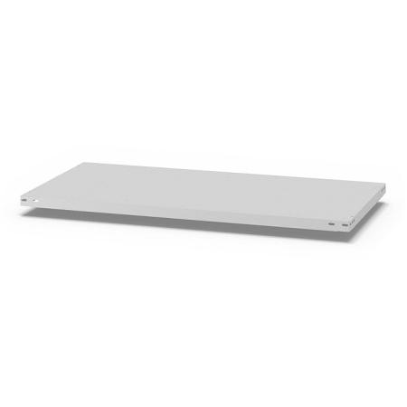hofe Fachboden (Typ L) K13060L/040 (BxT) 1300x600mm inkl.4 Fachbodenträger Lichtgrau