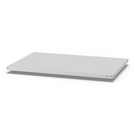 hofe Fachboden (Typ L) K13080L/040 (BxT) 1300x800mm inkl.4 Fachbodenträger Lichtgrau