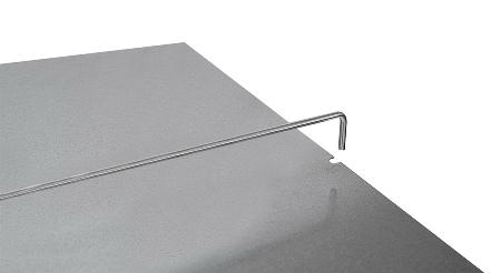 Hofe Mittelanschlagbügel Z48075 für 750mm Bodenbreite verzinkt