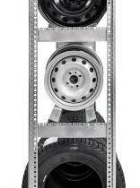 hofe Zusatzebene zur Felgenlagerung Z 504010 FG Ebene (BxT) 1000x400mm verzinkt