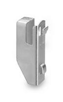 Hofe Fachbodenträger Z510040 einseitige Nutzung verzinkt Packung 4 Stück