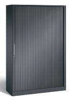C+P Rollladenschrank 143001-000 C3000 Asisto 5OH (HxBxT) 1980x1200x435mm Schwarzgrau