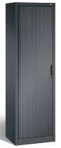 C+P Rollladenschrank Omnispace 3200-00R|S10037 Rolladen rechts (HxBxT)1980x600x420mm Schwarzgrau