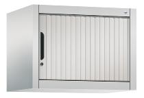 C+P Rollladen-Aufsatzschrank 3260-00L|S10011 Omnispace Maße H450xB600xT420mm Lichtgrau