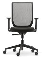 Trend!Office SC 9249/easy Bürodrehstuhl to-sync work (mesh) mit formschöner Netzrückenlehne Synchron-Mechanik 0