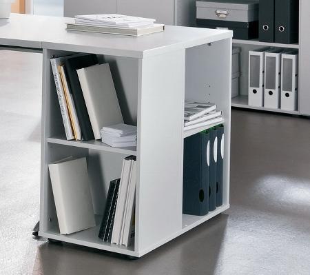 Anstellcontainer 1630 UNIVERSAL (BxTxH) 40x80x72cm Nussbaum