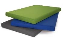 Sitzauflage ACSK/B für Container AC Serie, 16er Serie Blau