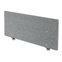 Akustik-Trennwand ARW12 (BxH)120x50cm grau-meliert