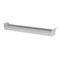 Hammerbacher Kabelwanne KC12/S klappbar für 120er Tisch Silber