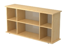 Sideboard SBOF offen (BxTxH) 166,1 x 44,8 x 84cm Korpusfarbe Ahorn