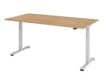 Hammerbacher XMST2E Sitz-Steh-Schreibtisch elektrisch (BxT) 200x100cm Eiche