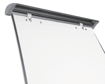 Legamaster 7-156000 Flipchart Block 20 Blatt 65x98cm weiß hfr 80g/m² blanco Packung 5 Blocks