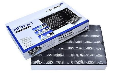 Legamaster 7-605300 Buchstabenkasten 30mm Schrifthöhe