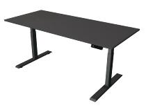 Kerkmann 2719 Steh-/Sitztisch Move 2 Gestell Anthrazit (BxTxH) 180x80x63-127cm Anthrazit