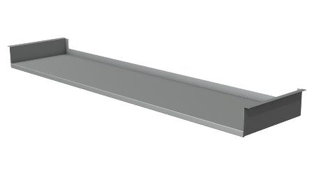 Ablageboard für Move 3 Premium ab Tischbreite 160 cm (BxTxH 140x32,5x10cm)