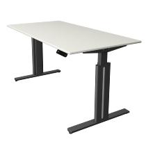 Kerkmann 3233 Steh-/Sitztisch Move 3 elegant elektr.höhenverstellbar (BxTxH) 160x80x72-120cm Weiß