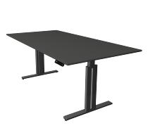 Kerkmann 3244 Steh-/Sitztisch Move 3 elegant elektr.höhenverstellbar (BxTxH) 200x100x72-120cm Anthrazit