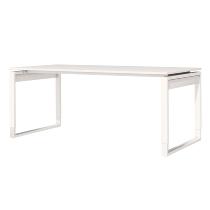 Kerkmann 3616 Schreibtisch FRESH (BxT) 180x80cm höhenverstellbar 68-82cm Weiß